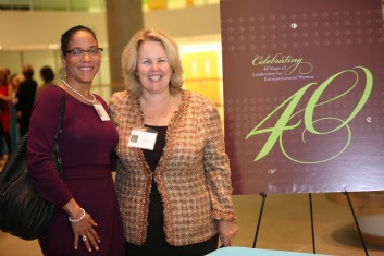 BETH WILLIAMS, ROXBURY TECHNOLOGY AND SUSAN RITTSCHER, PRESIDENT & CEO, CENTER FOR WOMEN & ENTERPRISE.